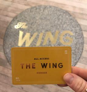 The Wing Membership
