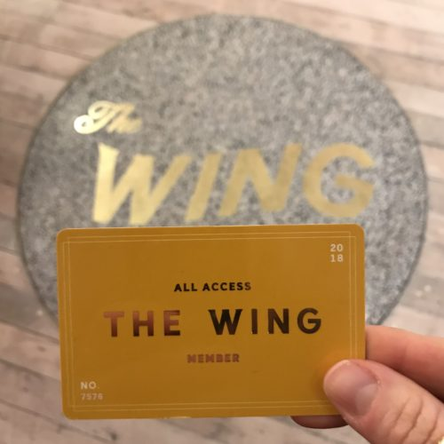 The Wing Membership